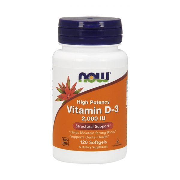 Now Vitamin D-3
