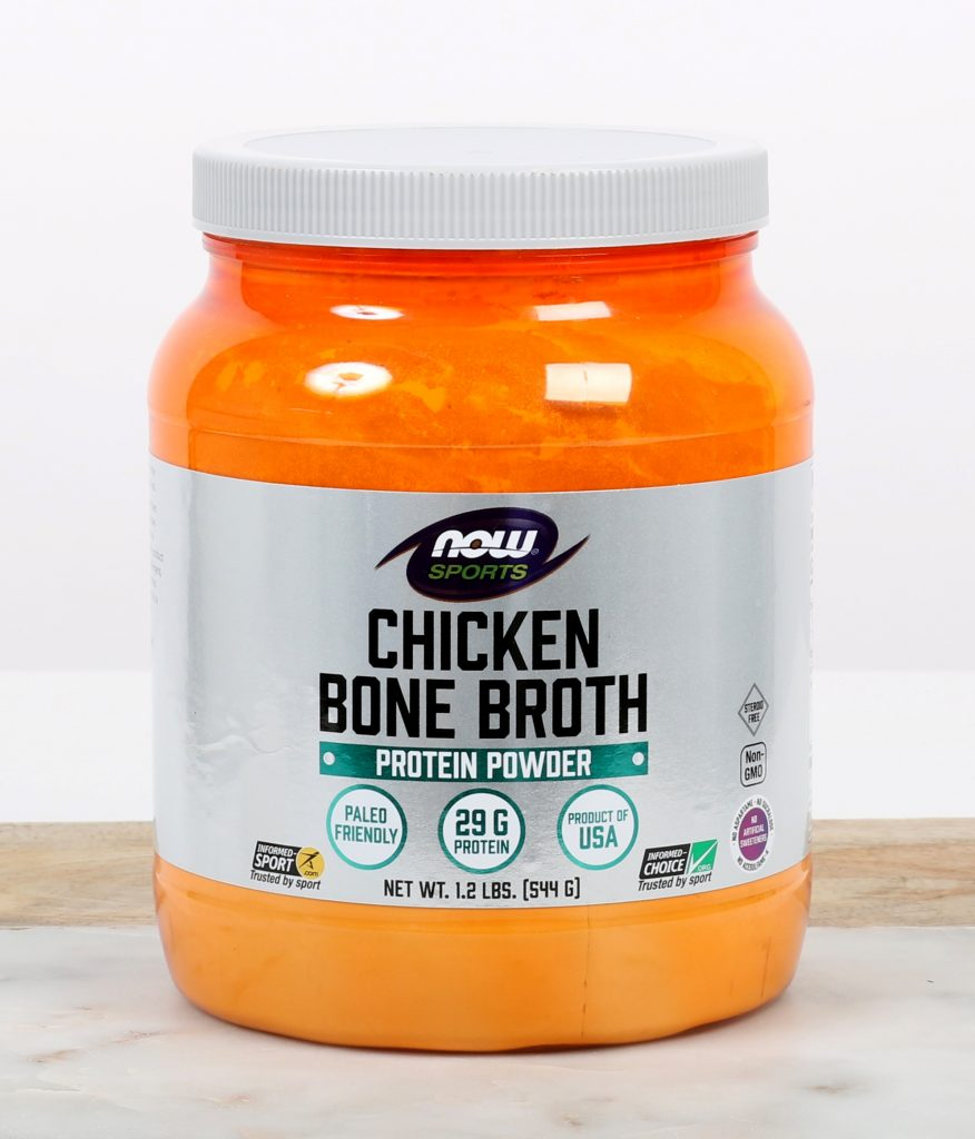 Beinaseyði chicken bone broth
